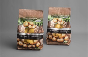Paper-Vento® coated paper for potatoes