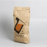 Pinch-bottom paper bags