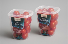 PP cups for tomatoes
