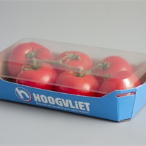tomatoes - cardbaord tray with lid