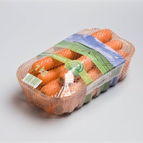carrots - plastic tray stretch flowpak