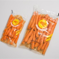 carrots - film bag